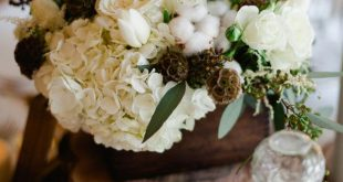 Late Fall Rustic Cabin Wedding Earthy Feel and Vintage Decor