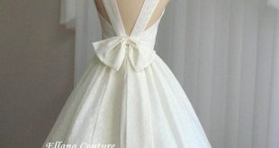 Maggie - Buttercream Eyelet Cotton Wedding Dress. Also Available in White