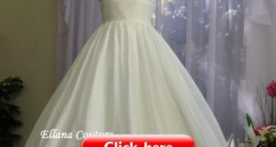 Shirley - Swiss Dot Cotton Wedding Dress. Vintage Inspired Design