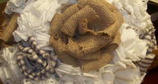 Not a huge fan of the bouquet as a whole, but I love the burlap in there. I woul...