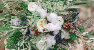 Rustic Winter Wedding Inspiration by Julie Paisley