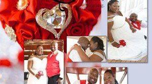 Bridesmaid's bouquet, Wedding Toss bouquet, red, purple, mini bouquet, Unique Wedding Bridal Bouquet