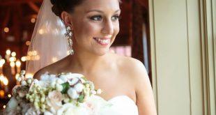 les fleurs : wedding florist : barn at gibbet hill : fall white bridal bouquet :...