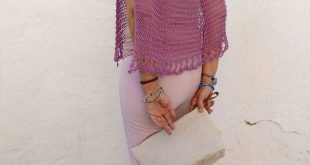 Cotton knit capelet, wedding cover up for women, lilac cotton poncho cape, bridal capelet, party dress cover up