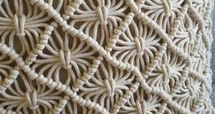 """Macramé pillow cover Boho cushion cover 100% cotton wedding pillow cover boho home decor, customized size 18x18"""""""