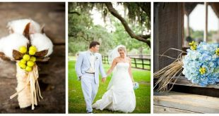 hydrangea and cotton wedding bouquet - Google Search