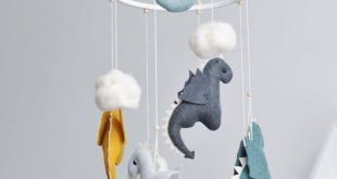 Baby Mobile for Dragon Age Baby Shower Gift, Dragon Mobile Bebe for Nursery