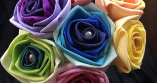 Ombre Rainbow Roses with Stems, Rainbow Rose Wedding Bouquet, Rainbow Bouquet, O...