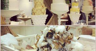 Bridal Extravaganza of Atlanta Bridal Show! Legendary Events cake display and co...