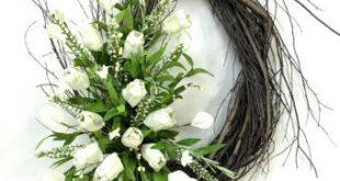 Cotton Boll Wreath, Cotton Wreath, Spring Wreath, Natural Wreath, Rustic Wreath, Cotton Bolls, Fixer Upper Wreath, Farmhouse Wreath, Prim