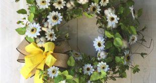 Farmhouse Cotton Wreath Cotton Bolls Rustic Cotton Wreath Cotton Boll Wreath Cot...