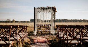 Macrame wedding arch, arbor, photography backdrop, boho curtain, bohemian wedding decor