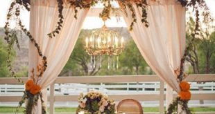 Sand Ceremony Arch Wedding decor Winter Wedding with gauze table runner Cheesecl...